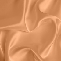 Silk Crepe backed Satin Medium - Apricot