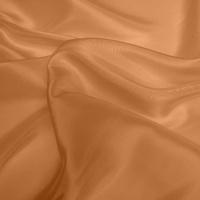 Silk Dupion Medium - Apricot (Dyed To Order)