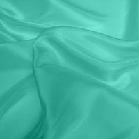 Silk Dupion Medium - Aqua (Dyed To Order)