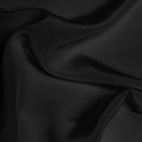 Silk Crepe de Chine Medium - Black