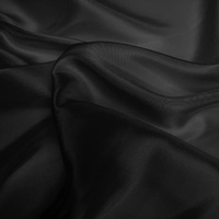 Silk Dupion Medium - Black