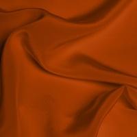 Silk Crepe de Chine Medium - Burnt Orange