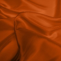 Silk Dupion Medium - Burnt Orange