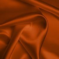 Silk Crepe backed Satin Heavy - Burnt Orange