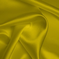 Silk Crepe backed Satin Heavy - Buttercup