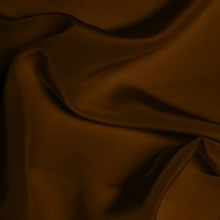 Silk Crepe de Chine Medium - Chocolate