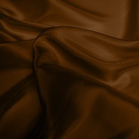 Silk Dupion Medium - Chocolate (Dyed To Order)
