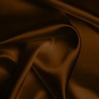 Silk Crepe backed Satin Heavy - Chocolate