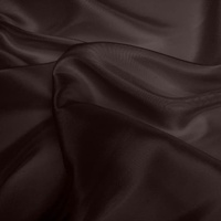 Silk Dupion Medium - Cocoa (Dyed To Order)