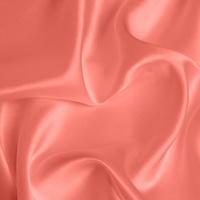 Silk Crepe backed Satin Medium - Coral