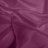 Silk Dupion Medium - Damson Purple