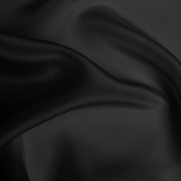 Silk Crepe de Chine Heavy - Dark Grey