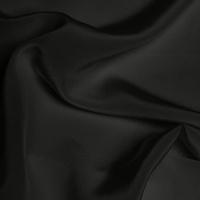 Silk Crepe de Chine Medium - Dark Grey