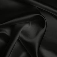 Silk Crepe backed Satin Heavy - Dark Grey