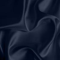 Silk Crepe backed Satin Medium - Dark Navy