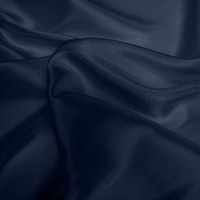 Silk Dupion Medium - Dark Navy