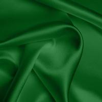 Silk Crepe backed Satin Heavy - Emerald Green