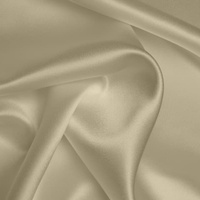 Silk Crepe backed Satin Heavy - Fawn (Dyed To Order)