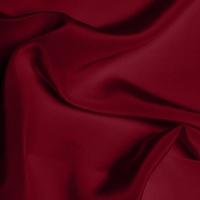 Silk Crepe de Chine Medium - Garnet
