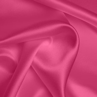 Silk Crepe backed Satin Heavy - Hot Pink