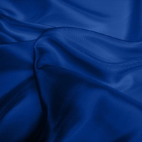 Silk Dupion Medium - Indigo (Dyed To Order)