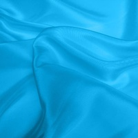 Silk Dupion Medium - Kingfisher Blue