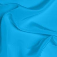 Silk Crepe de Chine Medium - Kingfisher Blue