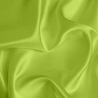 Silk Crepe backed Satin Medium - Lime