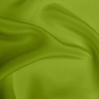 Silk Crepe de Chine Heavy - Lime (Dyed To Order)