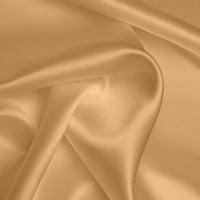Silk Crepe backed Satin Heavy - Mid Gold