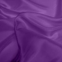 Silk Dupion Medium - Mid Purple (Dyed To Order)