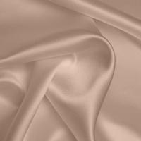 Silk Crepe backed Satin Heavy - Mushroom (Dyed To Order)