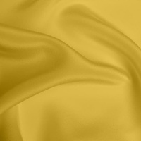 Silk Crepe de Chine Heavy - Ochre (Dyed To Order)