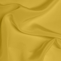 Silk Crepe de Chine Medium - Ochre