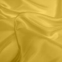 Silk Dupion Medium - Ochre (Dyed To Order)