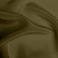 Silk Crepe de Chine Heavy - Olive Green