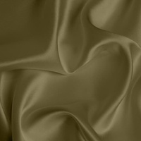 Silk Crepe backed Satin Medium - Olive Green