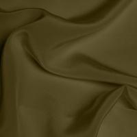 Silk Crepe de Chine Medium - Olive Green