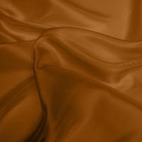 Silk Dupion Medium - Orange Rust (Dyed To Order)