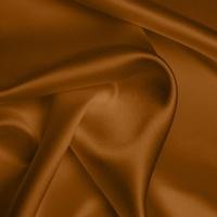 Silk Crepe backed Satin Heavy - Orange Rust