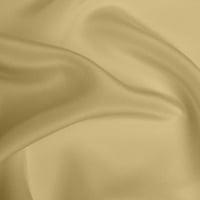 Silk Crepe de Chine Heavy - Pale Gold