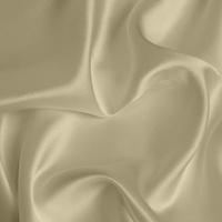 Silk Crepe backed Satin Medium - Pale Gold