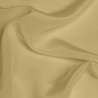 Silk Crepe de Chine Medium - Pale Gold