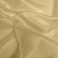 Silk Dupion Medium - Pale Gold