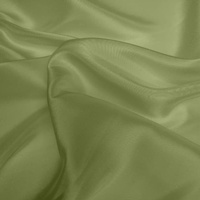 Silk Dupion Medium - Pistachio (Dyed To Order)