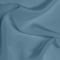 Silk Crepe de Chine Medium - Powder Blue