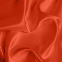 Silk Crepe backed Satin Medium - Scarlet