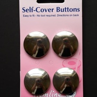 Self Covering metal buttons - 29mm