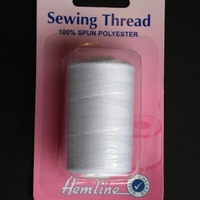 Sewing Thread White - 100% Polyester