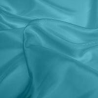 Silk Dupion Medium - Sky Blue (Dyed To Order)